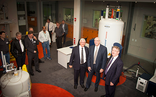Biomedical Magnetic Resonance Facility opening