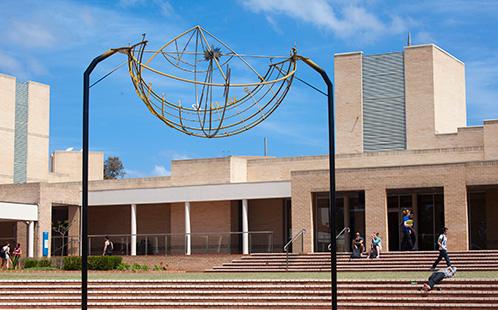 Campbelltown campus sun dial