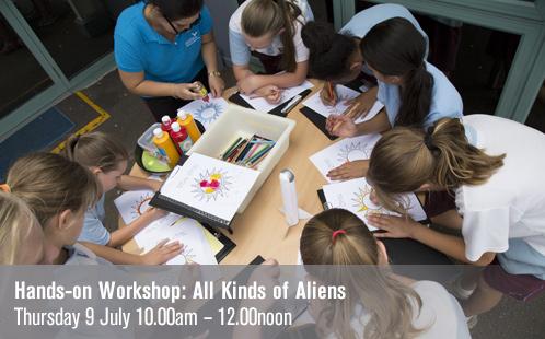 Hands-on Workshop: All Kinds of Aliens - 9 July 2015