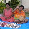 Fiji selling shells and jewellery