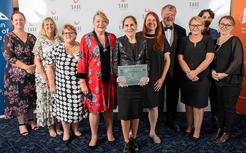 Western Sydney University accepts the Athena SWAN Bronze Institutional Award