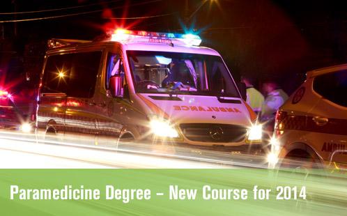 New Paramedicine Course