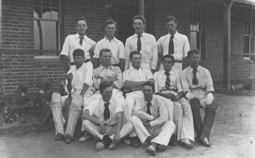 Cricket team, 1898 HAC (P1664)