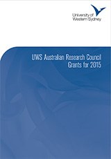 UWS ARC Grants for 2015 Image Cover