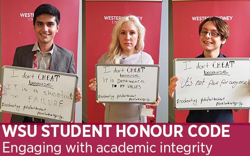 Student Honour code
