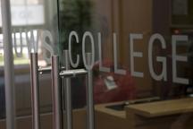 UWSCollege sign