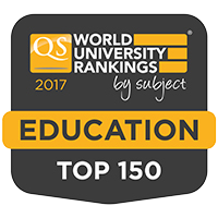 Education - ranked in the top 150 in the world