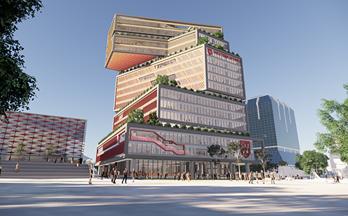 Artist impression of the Bankstown campus