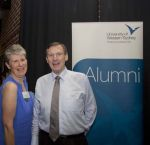Dr Diana Blom (Associate Professor, Director of Academic Program Music), Mr Robert Wendon (Alumni Relations Manager)