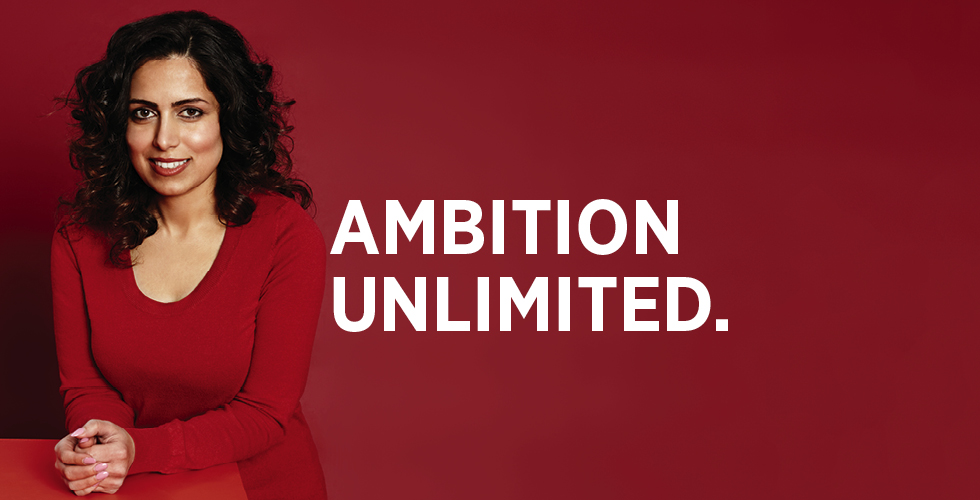Ambition Unlimited.