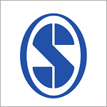 S from the Sage logo, in blue