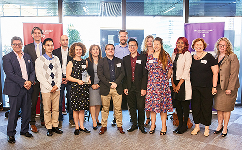 Research Impact Competition Participants