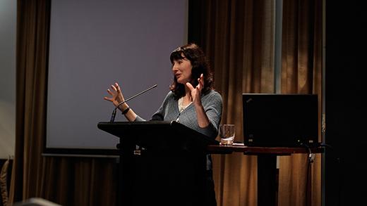 Gail Jones Presenting Her Paper