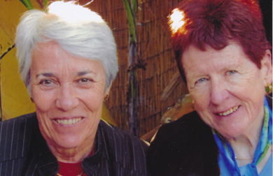 Margaret Vickers and Florence McCarthy