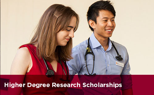 Higher Degree Research Scholarships