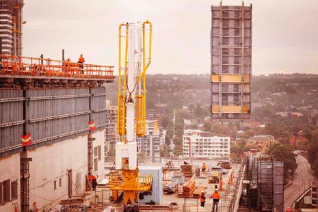 1 PSQ under construction