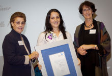 2010 UWS Young Women of the West Award Michelle Fenech