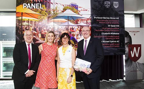 Universities unite on vision for Western Sydney region