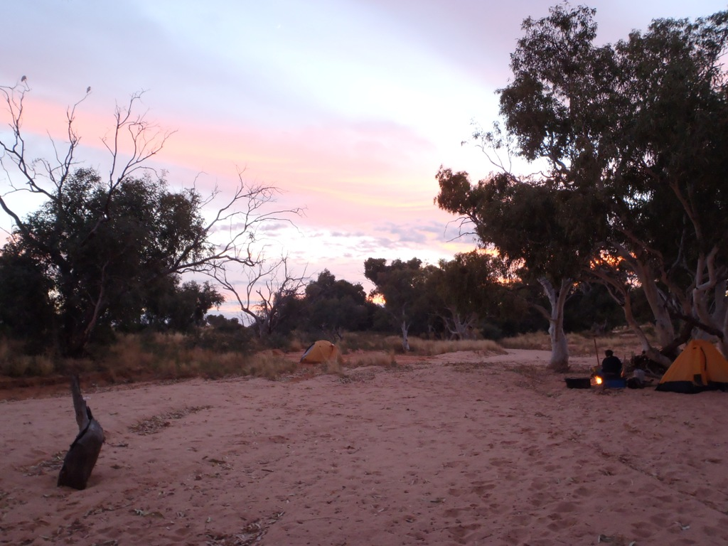 Bush Camp at Quinyambie Study Area