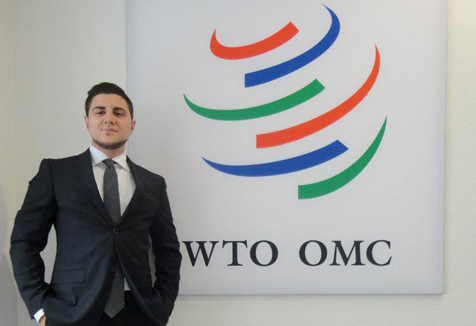 Stevan Ilic at the WTO Forum in Switzerland