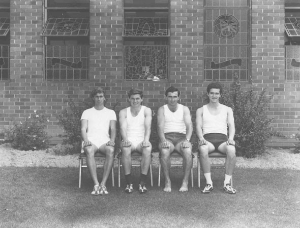 Athletics team, 1969 [Hawkesbury Agricultural College (HAC)]