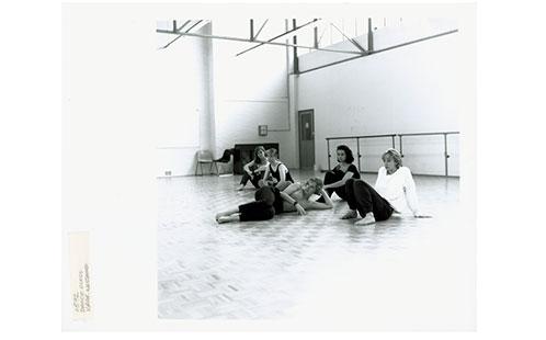 Dance class - Visual & Performing Arts (VAPA), Westmead [University of Western Sydney - Nepean (UWSN)], 1992 (Ref: P2323)