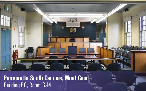 Parramatta South Campus, Moot Court, Building EO, Room G.44