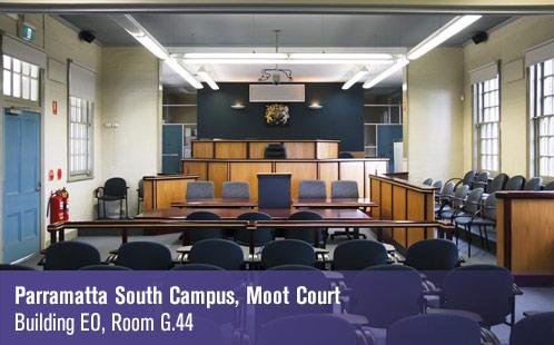 Parramatta South Campus, Moot Court, Building EO, Room G.44