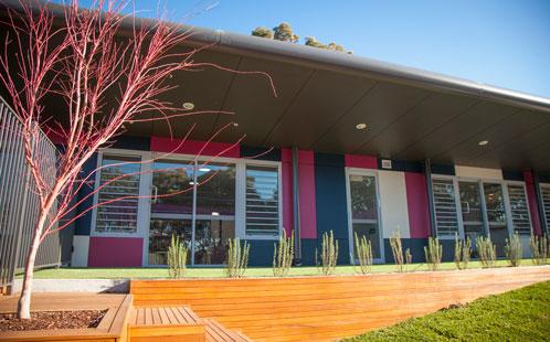 Parramatta childcare centre exterior