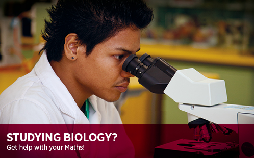 Studying Biology? Get help with your Maths!