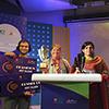 Thumbnail image of award acceptance