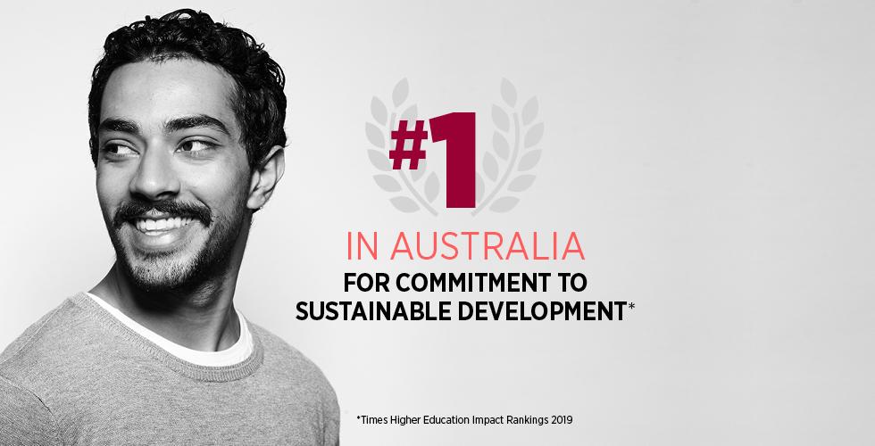 #1 in Australia for Sustainable Development