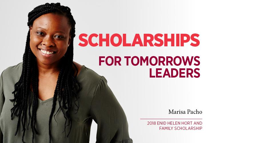 Spring Scholarships- Marisa