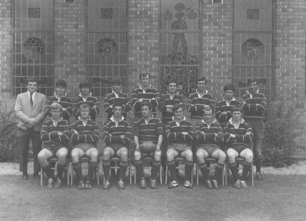Football (Rugby Union) team - 4th XV, 1969 [Hawkesbury Agricultural College (HAC)]