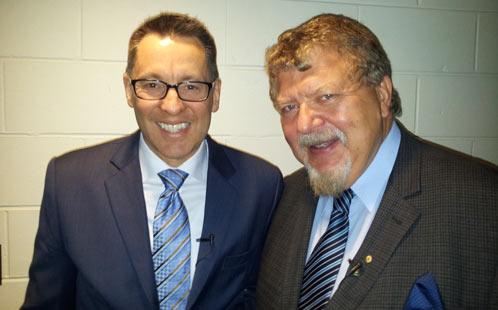 Senator Mason with Dr Ozdowski