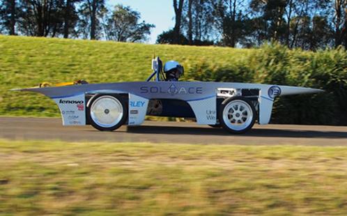 Solar car 2013