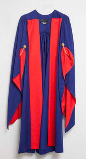 Cambridge phd academic dress colors