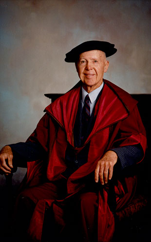 Portrait of Dr Hugh �Ben� Campbell � Principal of Westmead Teacher's College (Ref: P2347)