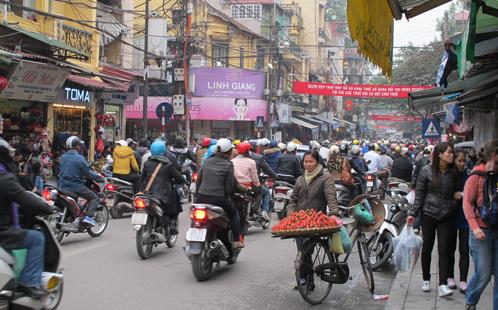 Vietnamese streetscape