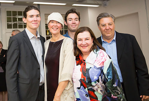 Professor Natalie Bolzan's retirement party