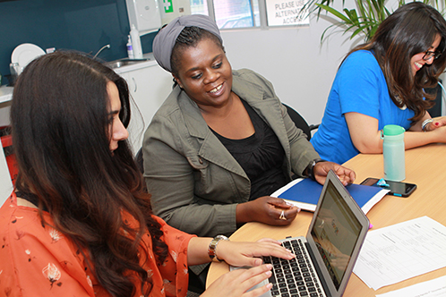 Challenging Racism research team in discussion