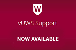 vUWS home page
