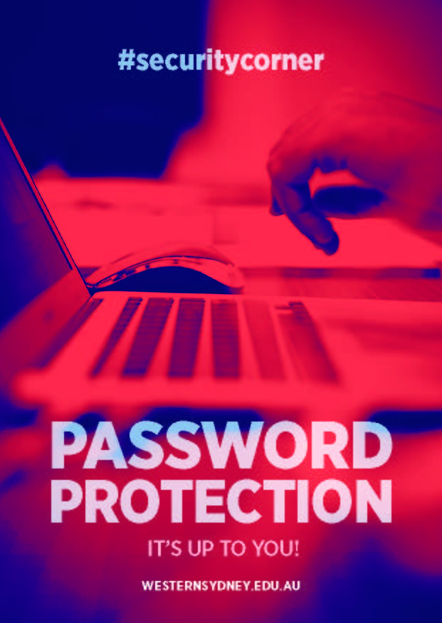 password protection postcard