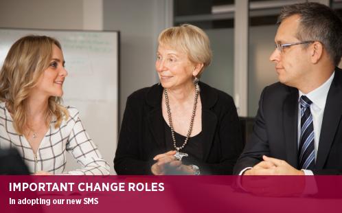 important change roles