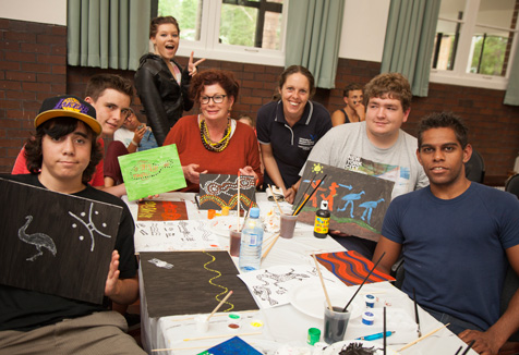 Cultural Art workshop Singleton High