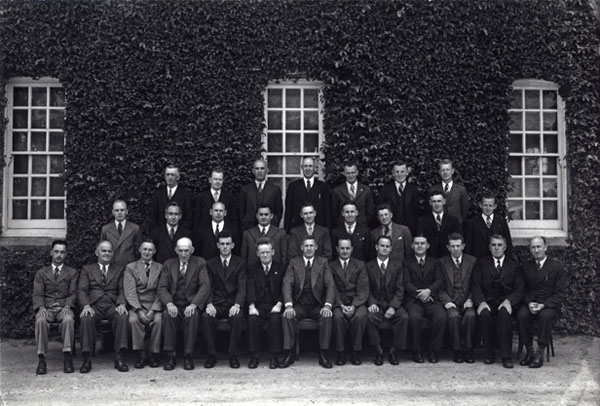 College staff [Hawkesbury Agricultural College (HAC)]