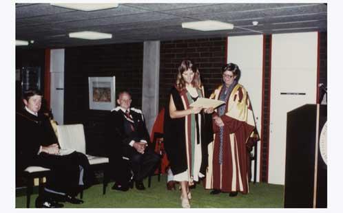 Graduation at the Bankstown campus