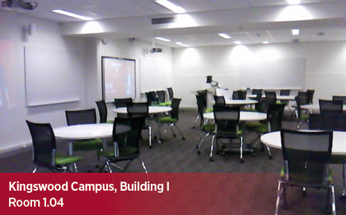 Kingswood Campus, Building I, Room 1.04