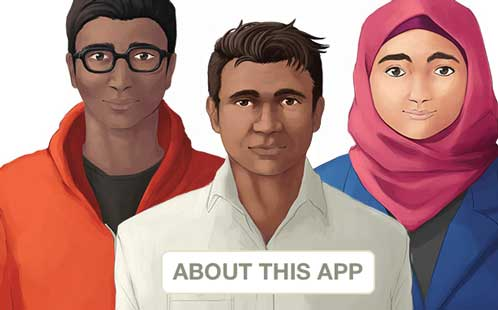 Screenshot of Everyday Racism app