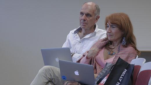 Michael Humphrey and Estela Valverde